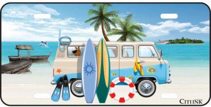 Beach Van Tag -0