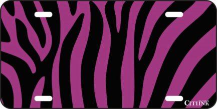 Black and Purple Zebra Print-0