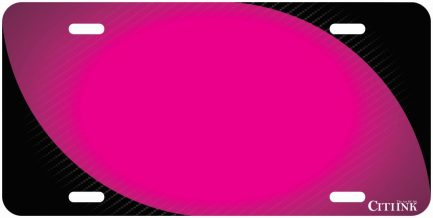 Carbon Fiber Tag with Pink-0