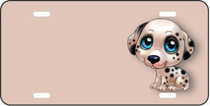Dalmation Cartoon Tag (Girl)-0