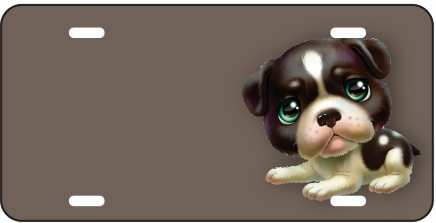 Jack Russell Cartoon Tag -0