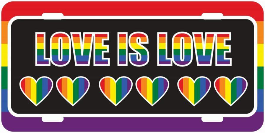 Pride Tag With Hearts-0