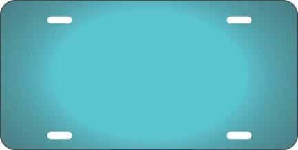 Mint Blue Car Tag-0