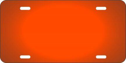 Orange Car Tag-0