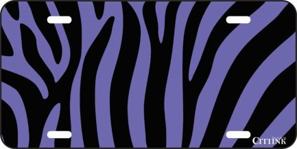 Purple and Black Zebra Print -0