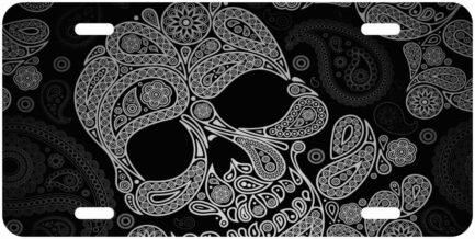 Skull Monogram Tag Pattern-0