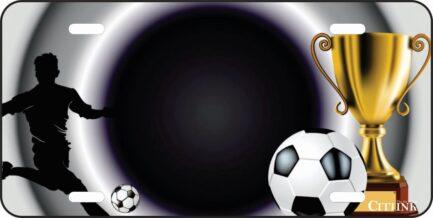 Soccer Trophy Tag -0