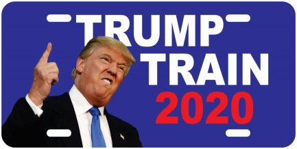 Trump Train Tag (Blue)-0