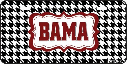 Bama Car Tag-0