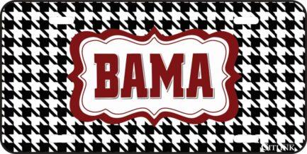 Bama Car Tag-0