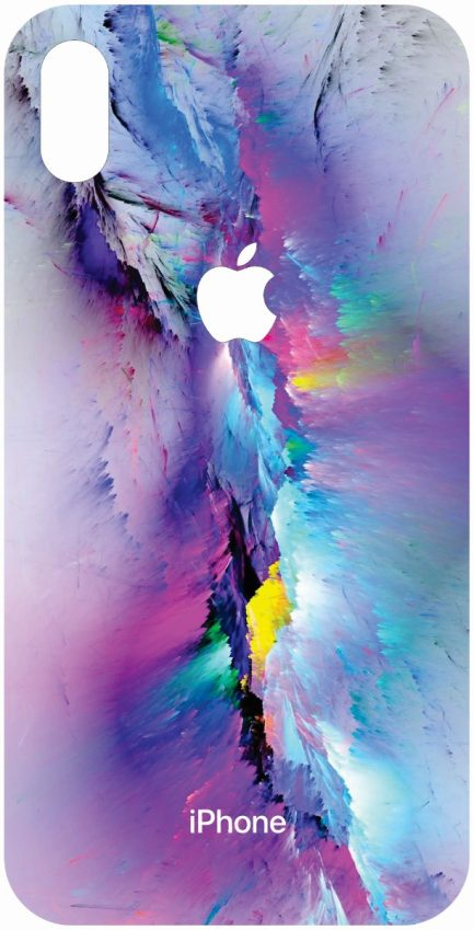 iPhone Xs Max Colorful Rock Design-0