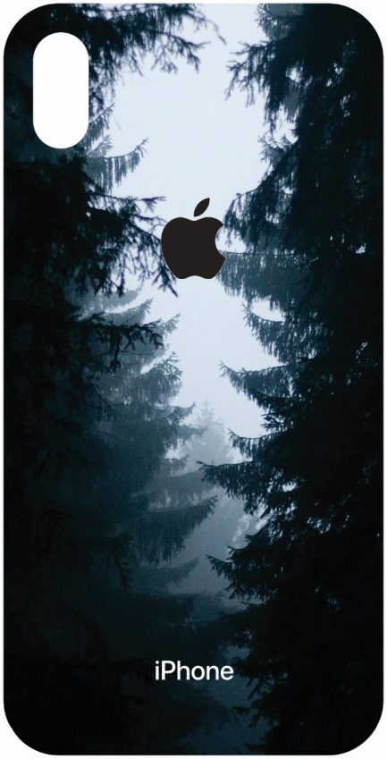 iPhone Xs Max Dark Forest Design-0