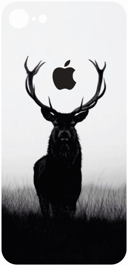 iPhone 8 Deer Shadow Skin-0