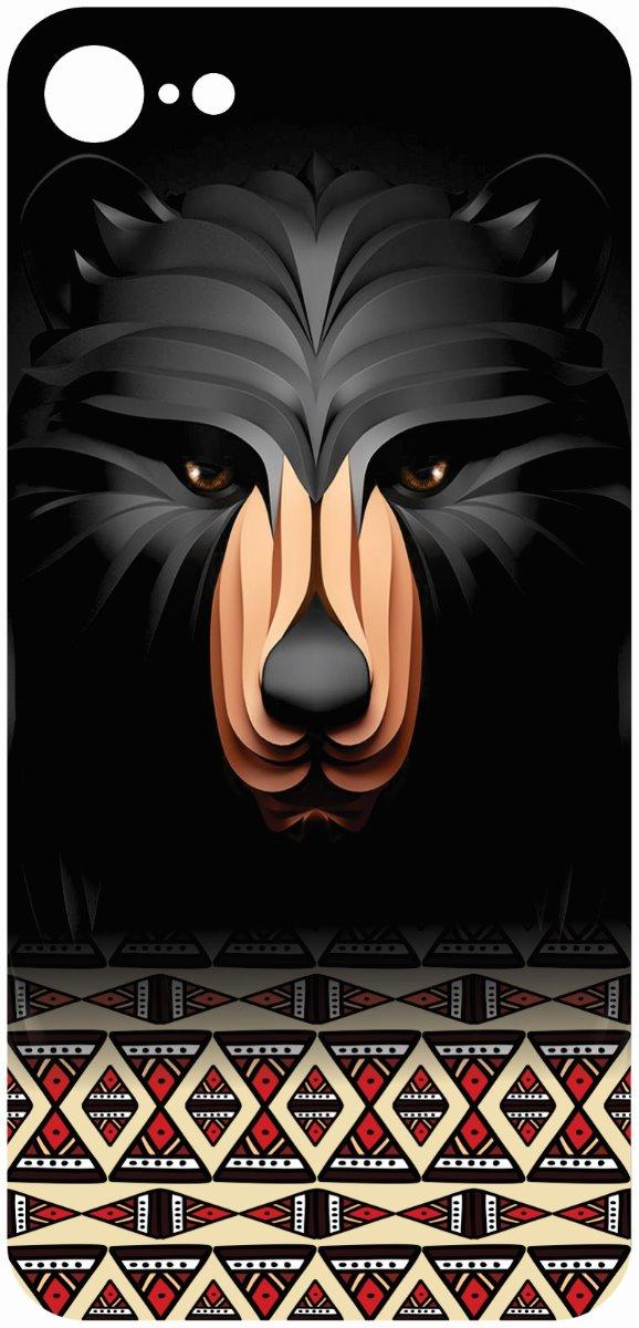 iPhone 8 Black Bear Skin -0
