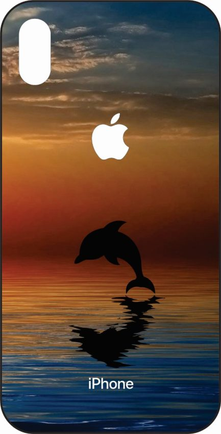 iPhone Xs Max Dolphin Jumping-0