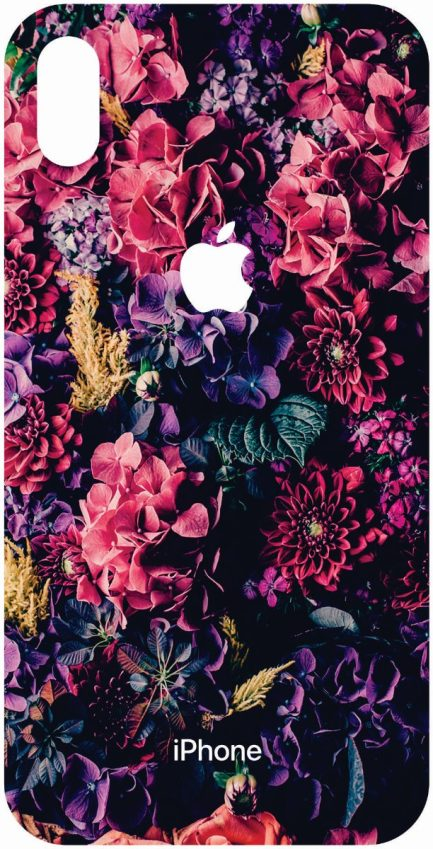iPhone Xs Max Flower Skin-0