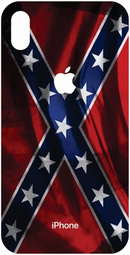 iPhone Xs Max Rebel Flag Design #2-0