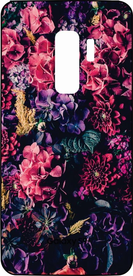 S9 Plus Skin Flower Design-0