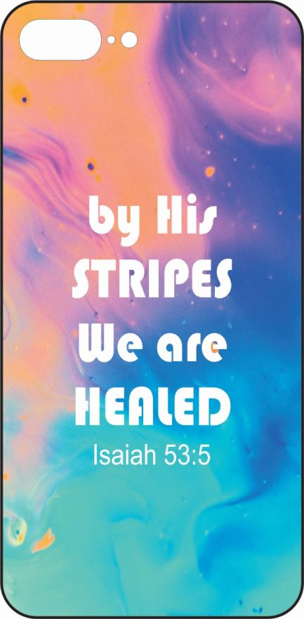 "iPhone 8 Plus ""By his stripes we are healed"" Skin-0"