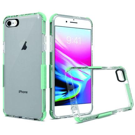 iPhone 8 Clear Case Mint Blue-0