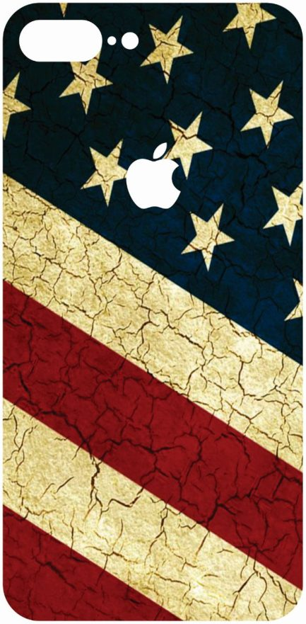 iPhone 8 Plus American Flag Skin-0