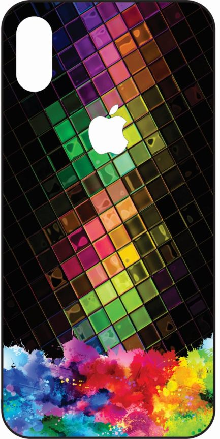 iPhone X Colorful Design Skin #1-0
