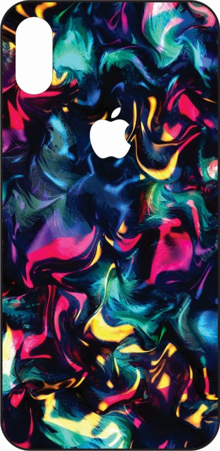 iPhone X Colorful Liquid Skin #2-0