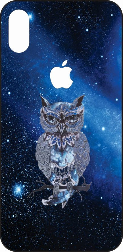 iPhone X Owl In Space-0