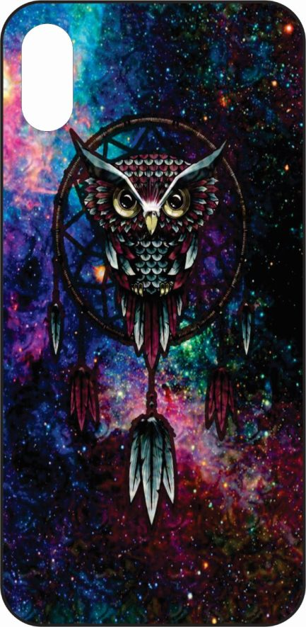 iPhone X Owl with Dream Catcher-0