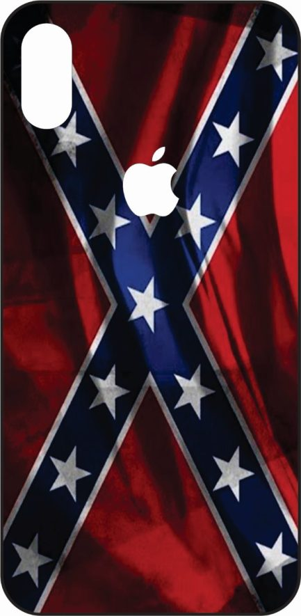iPhone X Rebel Flag Skin-0