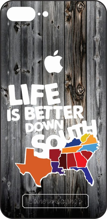 "iPhone 8 Plus ""Life is better in the South"" Skin-0"