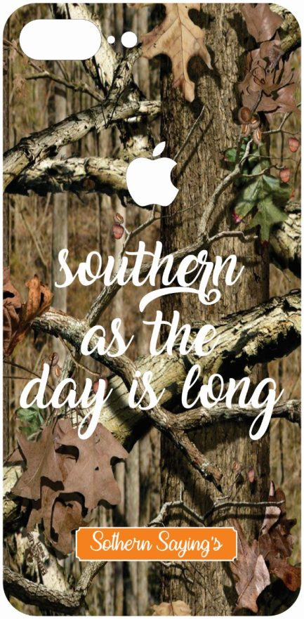 "iPhone 8 Plus ""Southern as the day is Long"" Skin-0"