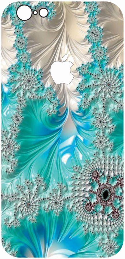 iPhone 6 / 6s Blue Coral Design-0
