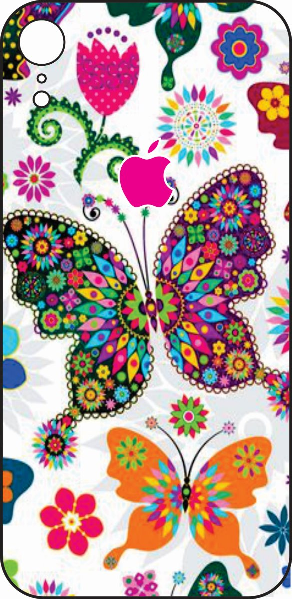 iPhone XR Butterfly Design #1-0
