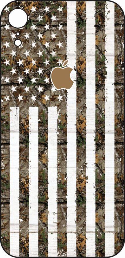 iPhone XR American Flag Camo-0