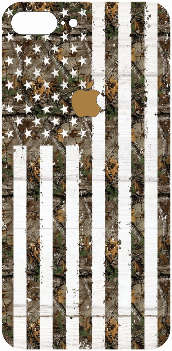 iPhone 8 Plus Camo American Flag-0