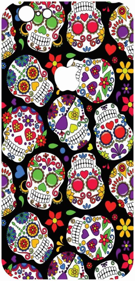 iPhone 6 /6s Candy Skull Design #1-0