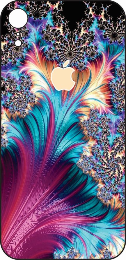 iPhone XR Coral Design #1-0