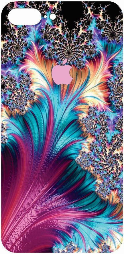 iPhone 8 Plus Coral Design #2-0