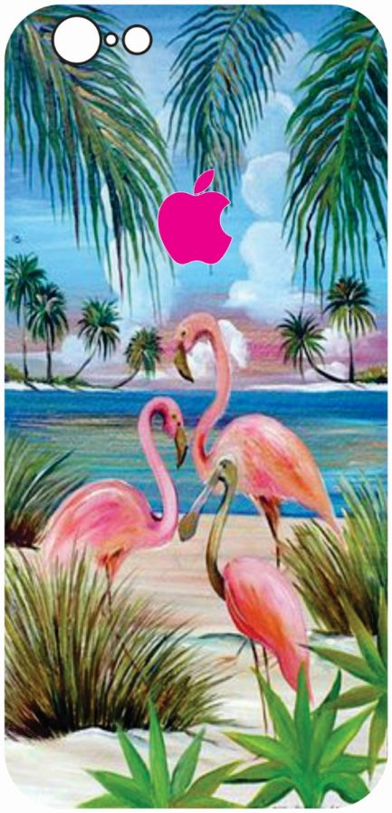 iPhone 6/6s Flamingo Design #2-0