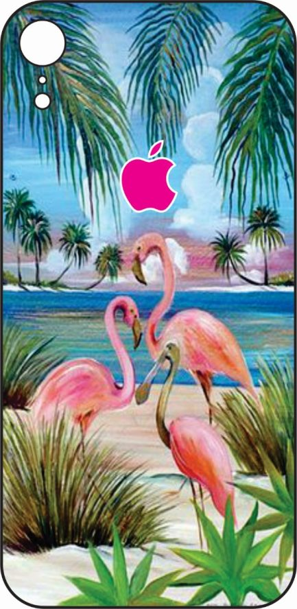 iPhone XR Flamingo's Design #1 -0