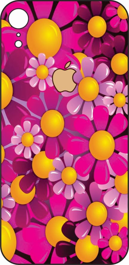 iPhone XR Flower Design #2-0