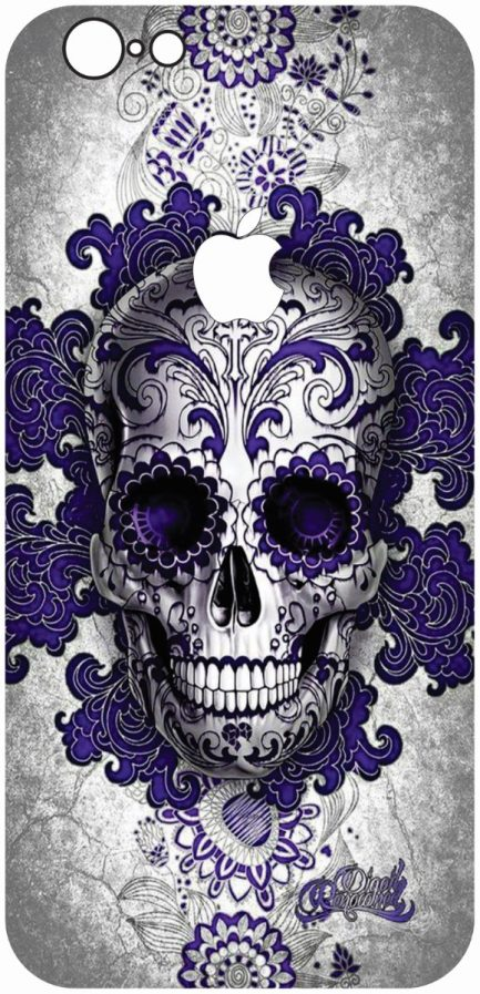 iPhone 6/6s Purple Skull-0