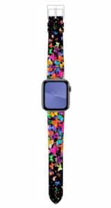 Custom Apple WATCH Band Colorful Butterfly Design