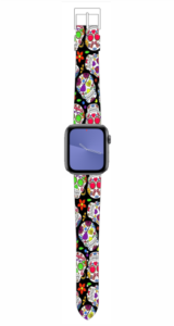Custom Apple WATCH Band Candy Skull Design